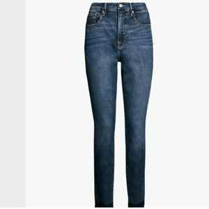 Good American Shadow Side Skinny High Rise Jeans